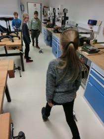 Fotos aus unserem neuen Robotik Kurs